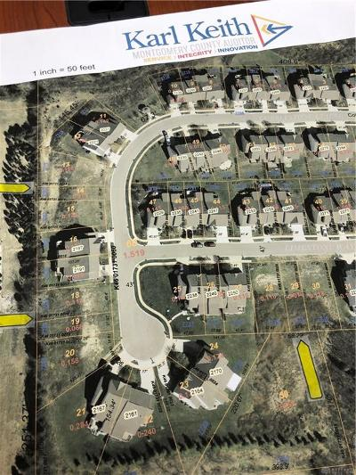 Montgomery County Residential Lots & Land For Sale: 7719-7721 Cobblestone Court