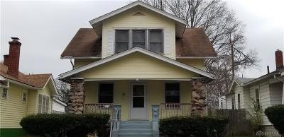 Dayton OH Single Family Home For Sale: $39,950