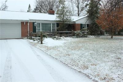 Dayton Single Family Home For Sale: 7611 Eagle Creek Drive