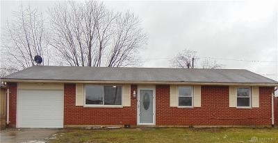 Dayton OH Single Family Home For Sale: $85,000