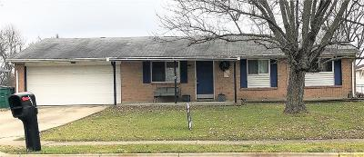 Huber Heights Single Family Home For Sale: 5254 Taylorsville Road