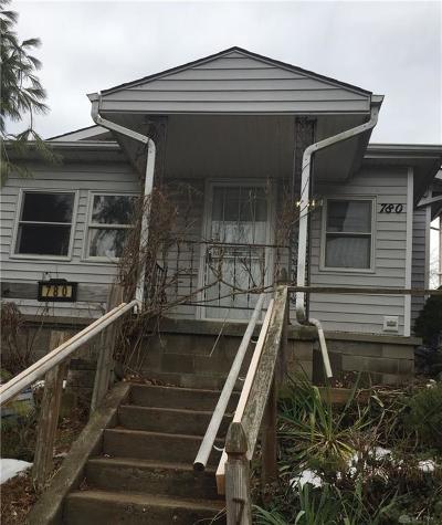 Springfield Single Family Home For Sale: 780 Woodbine Avenue