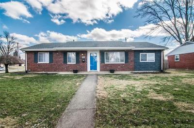 Xenia Single Family Home Pending/Show for Backup: 1861 Oklahoma Drive