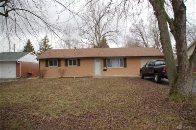 Union OH Single Family Home For Sale: $87,500