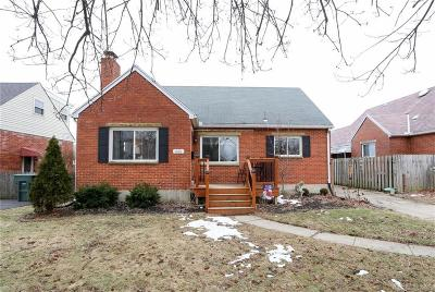 Dayton Single Family Home For Sale: 835 Greenmount Boulevard