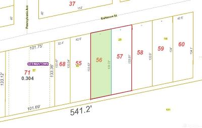 Montgomery County Residential Lots & Land For Sale: 25 Baltimore Street