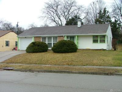 Dayton Single Family Home For Sale: 1731 Vancouver Drive