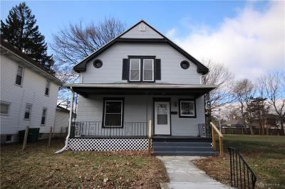 Springfield Single Family Home For Sale: 1619 Woodward Avenue
