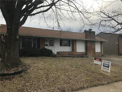 Dayton Single Family Home Pending/Show for Backup: 1580 Spaulding Road