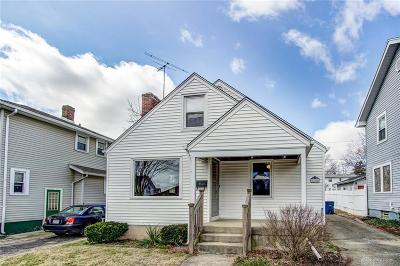 Dayton Single Family Home For Sale: 1645 Meriline Avenue