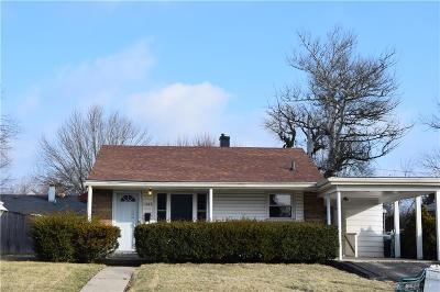Dayton Single Family Home For Sale: 1259 Forrer Boulevard