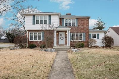 Springfield Single Family Home For Sale: 336 Broadmoor Boulevard