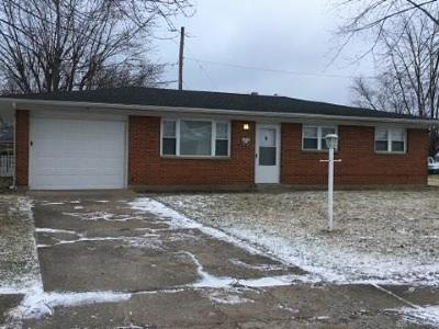 Sabina OH Single Family Home For Sale: $109,000
