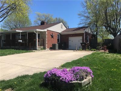Xenia Single Family Home For Sale: 215 Wilson Drive