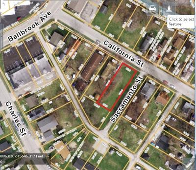 Xenia Residential Lots & Land For Sale: California Street