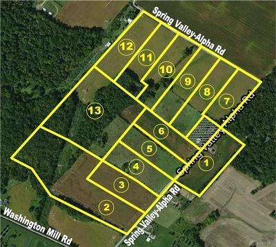 Greene County Residential Lots & Land For Sale: Lot 1 Spring Valley Alpha Road