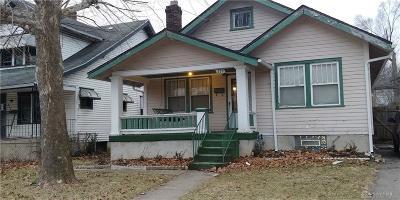 Dayton Single Family Home For Sale: 839 Dow Street