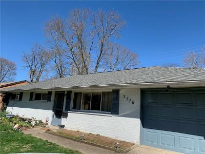 Kettering Single Family Home For Sale: 3776 Utica Drive