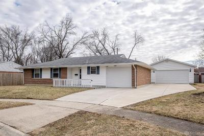 Huber Heights Single Family Home For Sale: 7140 Caribe Place