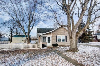 West Milton Single Family Home Pending/Show for Backup: 7540 Kessler Frederick Road