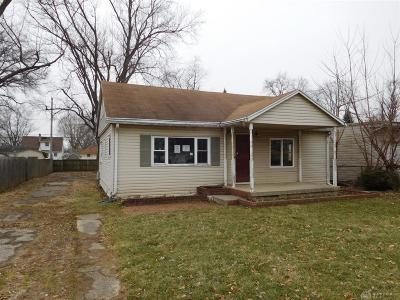 Springfield OH Single Family Home For Sale: $39,000