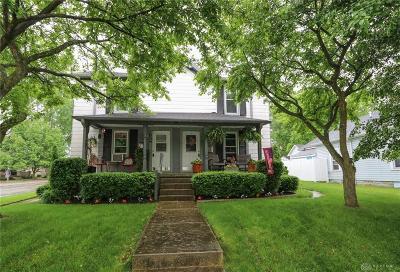 Tipp City Multi Family Home For Sale: 100-102 Plum Street