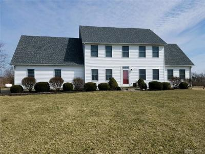 Greene County Single Family Home Pending/Show for Backup: 3828 Wilberforce Clifton Road