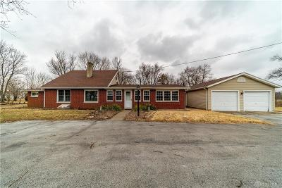 Brookville Single Family Home For Sale: 9403 National Road
