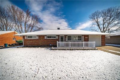 Huber Heights Single Family Home Pending/Show for Backup: 4333 Kitridge Road