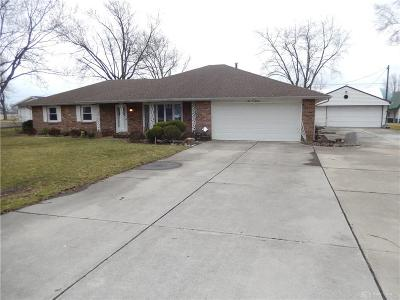Tipp City Single Family Home For Sale: 1420 Gingham Fred Road