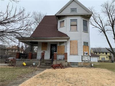 Dayton Single Family Home For Sale: 829 Five Oaks Avenue