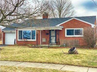 Brookville Single Family Home Pending/Show for Backup: 182 Church Street