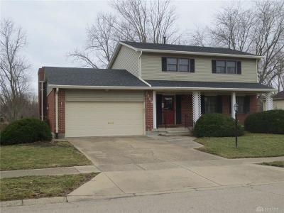 Dayton Single Family Home Pending/Show for Backup: 2864 Corlington Drive