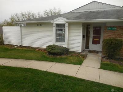 Dayton Condo/Townhouse For Sale: 5847 Troy Villa Boulevard