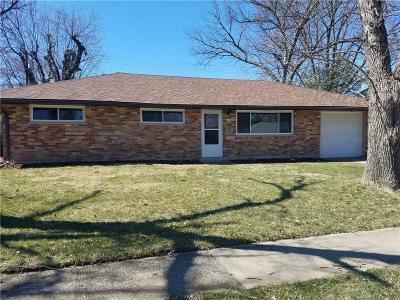 Dayton Single Family Home For Sale: 4853 Joyce Drive