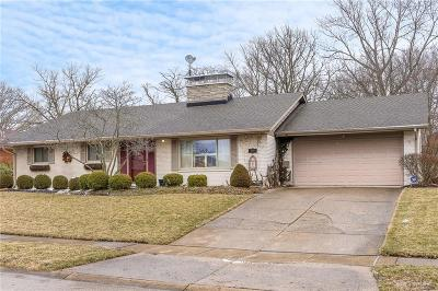 Kettering Single Family Home For Sale: 3316 Highgrove Place