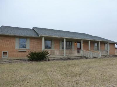 New Carlisle Single Family Home For Sale: 3195 Addison New Carlisle Road