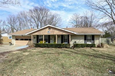 Dayton Single Family Home Pending/Show for Backup: 6570 Pine Cone Drive