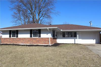 Huber Heights Single Family Home Pending/Show for Backup: 6033 Leycross Drive