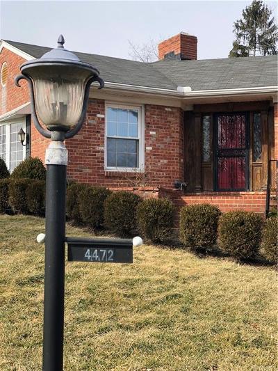Dayton Single Family Home Pending/Show for Backup: 4472 Lotz Road
