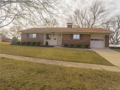 Dayton Single Family Home Pending/Show for Backup: 4023 Mengel Drive