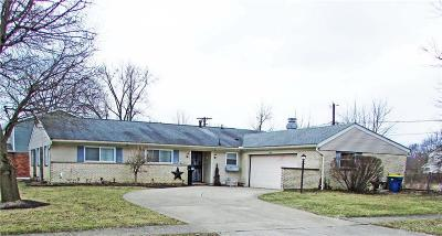 Dayton Single Family Home For Sale: 5901 Pennywell Drive