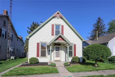 Tipp City Single Family Home For Sale: 217 2nd Street