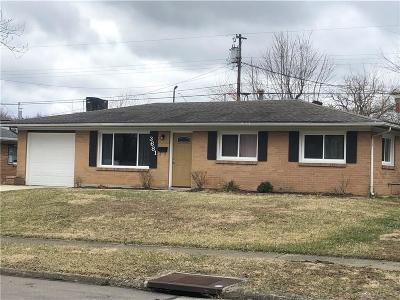 Dayton Single Family Home Pending/Show for Backup: 3681 Lisbon Street