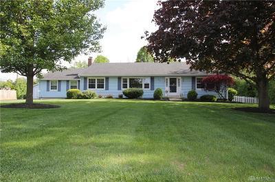 Vandalia Single Family Home For Sale: 350 Alkaline Springs Road