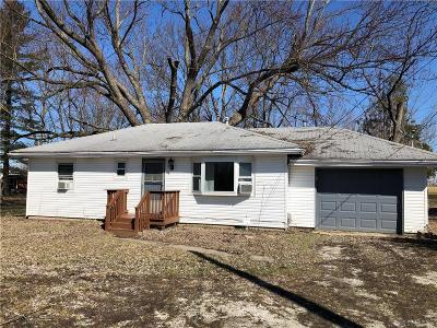 Springfield OH Single Family Home For Sale: $75,000