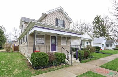 Tipp City Single Family Home For Sale: 124 2nd Street