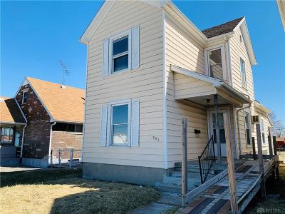 Dayton OH Single Family Home For Sale: $28,500