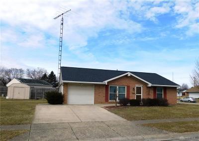 New Carlisle Single Family Home For Sale: 532 Hamilton Avenue