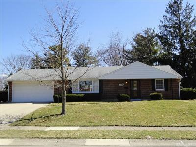 Kettering Single Family Home For Sale: 3216 Powhattan Place